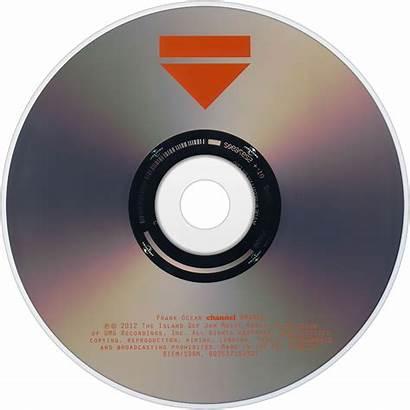 Frank Ocean Orange Channel Label Cd Album