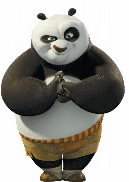 Fu Kung Panda Po Fight Ready Transparent