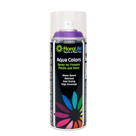 400ml oasis water based floralife 174 aqua color spray paint