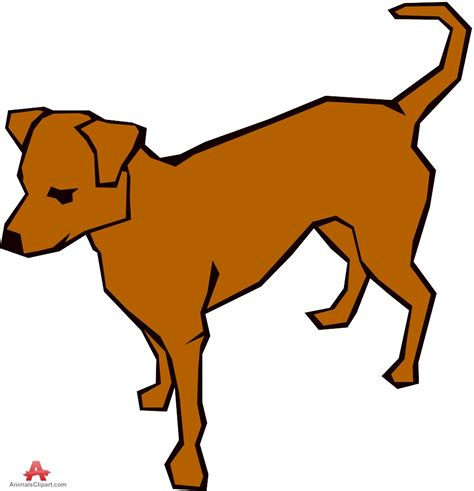 Clip Dogs Brown Clipart Clipground