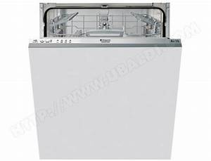 Lave Vaisselle Tout Integrable : hotpoint ariston ltf11b116eu lave vaisselle tout ~ Nature-et-papiers.com Idées de Décoration
