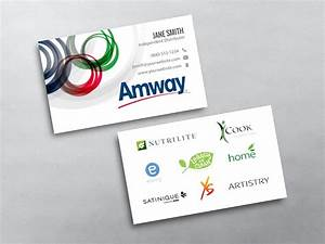 Amway business cards free shipping for Amway business cards template