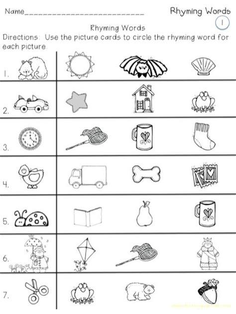 15 Best Images Of 1st Grade Rhyming Worksheets  Rhyming Worksheets Grade 1, Free Printable