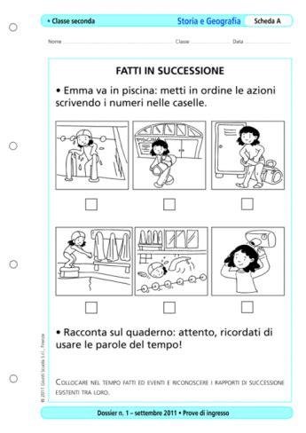 Prove Ingresso Prima Media Storia Prove D Ingresso Storia E Geografia Classe 2 La Vita