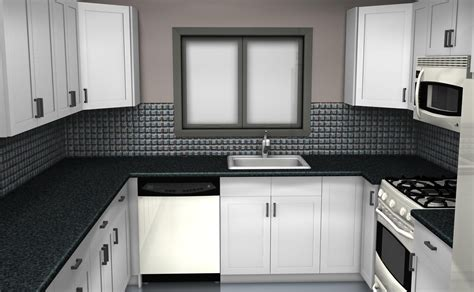 backsplash for black and white kitchen timeless black and white kitchen cabinets for any interior style mykitcheninterior