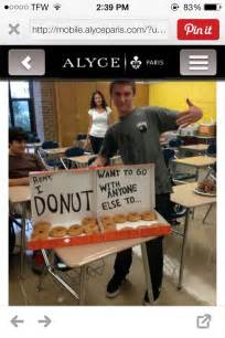Donut Prom Proposal