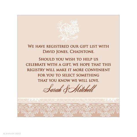 registry information  wedding invitations invitation