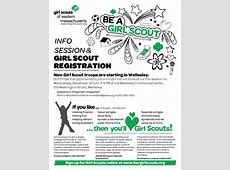 New Girl Scout troops to start in Wellesley The