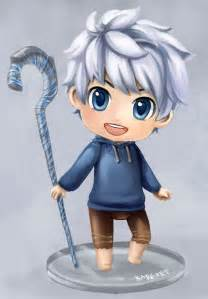 How to Draw Chibi Jack Frost