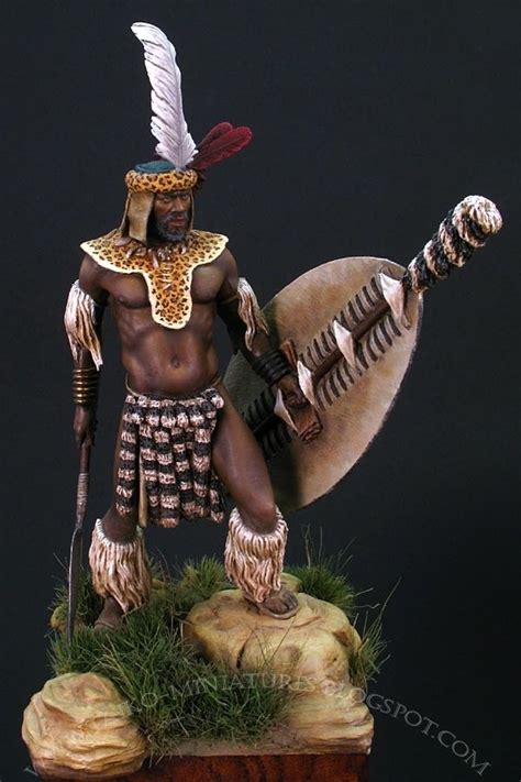 zulu warrior  milan taiko dufek puttypaint