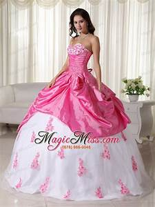 White And Pink Quinceanera Dresses 2014 | www.pixshark.com ...