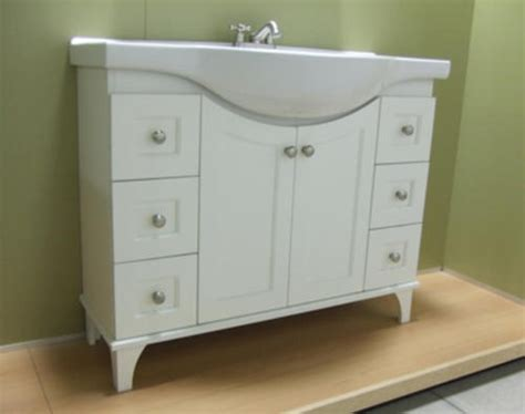 menards bathroom sink base 41 quot fairmont collection vanity base a narrow vanity