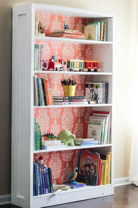Cheap Bookcase Ideas by Bookshelf Makeover Before After Erin Spain
