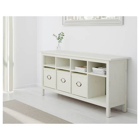 white wood console table hemnes console table white stain 157x40 cm ikea