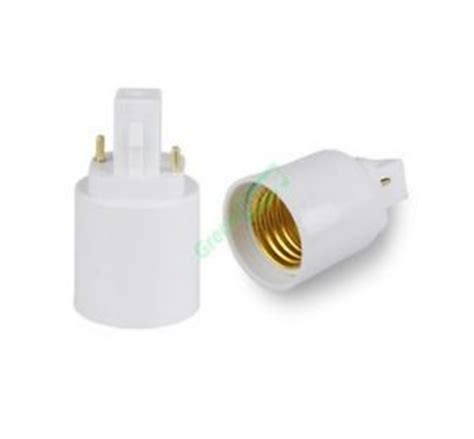 2 prong light bulb adapter for two pin led bulbs