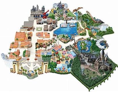 Usj Shops Universal Japan Studios Map