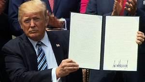 Trump signs executive order to 'vigorously promote ...