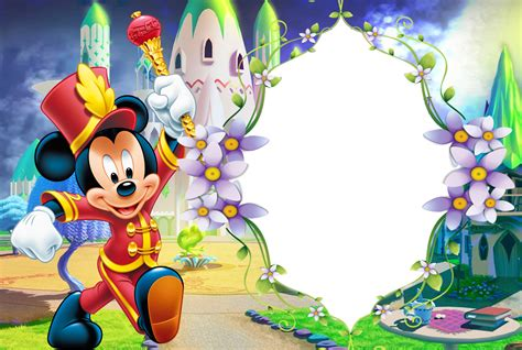 kids transparent png photo frame  micke mouse