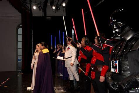 wars star universe lightsaber raise extended jennifer alex