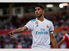 Real Madrid's Achraf Hakimi is going to the 2018 World Cup
