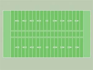7 best images of free printable football field football for Blank football field template