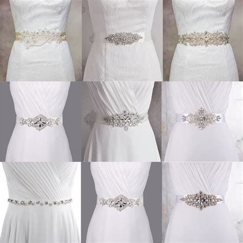Wedding Dress Accessories by White Ivory Bridal Sash Belt Wedding Dress Accessory