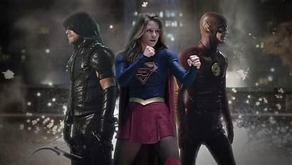 Supergirl Flash Arrow Legends Tomorrow Wallpapers Arrowverse