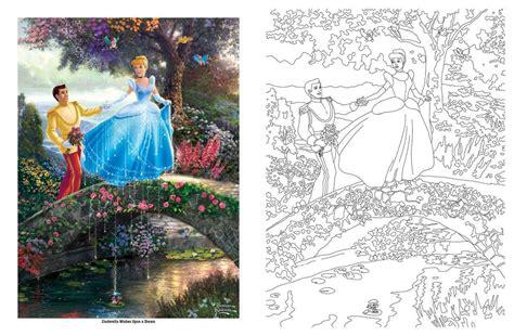 disney coloring books disney dreams collection kinkade studios coloring
