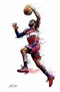99 best images about NBA ART on Pinterest | Tracy mcgrady ...