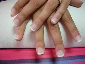 Ongle En Gel Court : french manucure gel ongle court styliste ongulaire ~ Melissatoandfro.com Idées de Décoration