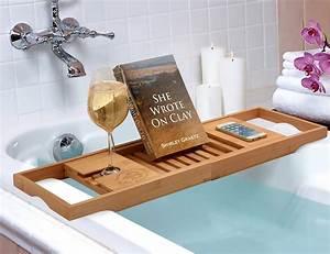 Bamboo Bathtub Caddy From Bambüsi By Belmint » Gadget Flow