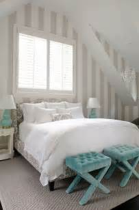 weisses schlafzimmer blue bedrooms turquoise and stripes on