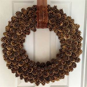 How, To, Create, A, Perfect, Pinecone, Wreath, With, Easy, Tips