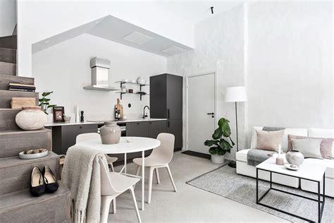 decoracion minimalista en  duplex pequeno estilos deco