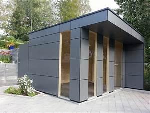 Gartenhaus Grau Modern : a2 design gartenhaus box ~ Buech-reservation.com Haus und Dekorationen