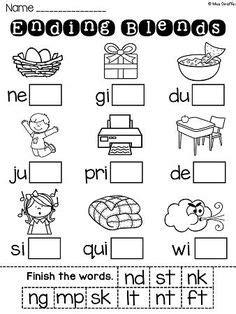phonics  consonant blends images phonics