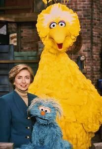 Image - Hillary Clinton Rosita Big Bird.jpg   Muppet Wiki ...