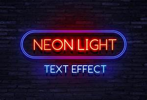 neon light text effect graphicsfuel With neon letter maker