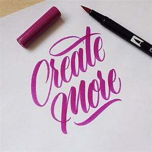 17 best images about calligraphy brush on pinterest With best lettering brushes