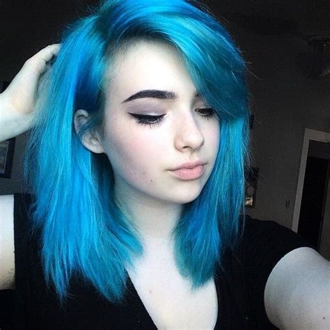 Best 25  Blue hair ideas on Pinterest   Dark blue hair