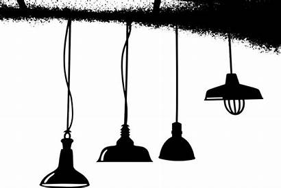 Lanterns Ceiling Vector Lamps Silhouette Pixabay Graphic