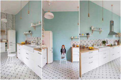 carrelage cuisine blanc faut il succomber à la déco carreaux de ciment