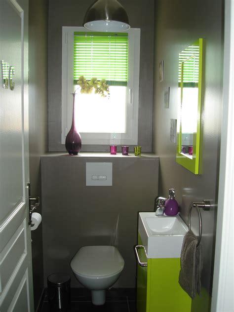 bien organiser sa cuisine photo déco wc toilettes prune