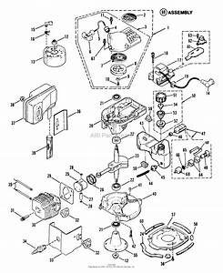 Snapper 2100hhb Blower Parts Diagram For Engine Components