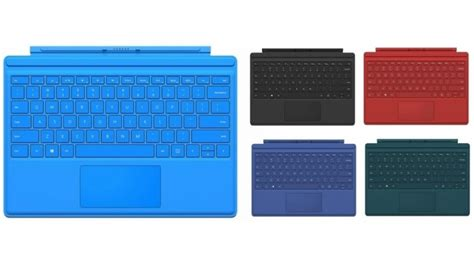 surface pro keyboard colors buy microsoft surface pro 4 type cover harvey norman au