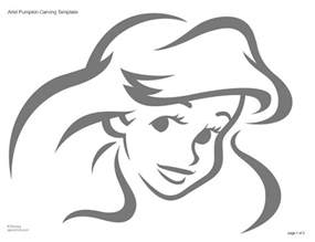 Princess Pumpkin Stencils Printable by Disney Princess Pumpkins Images