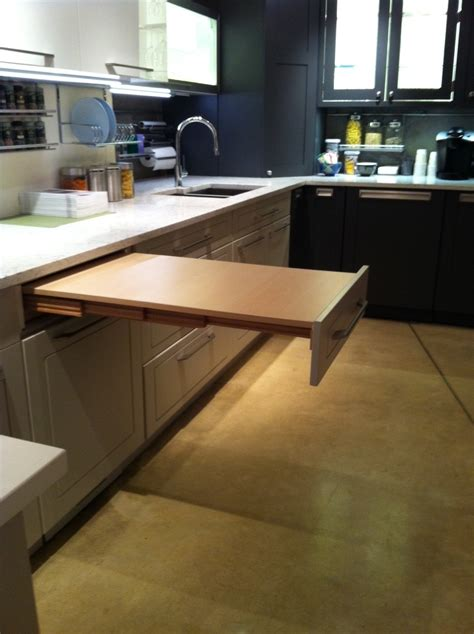 hutch with pull out table universal design hafele america co