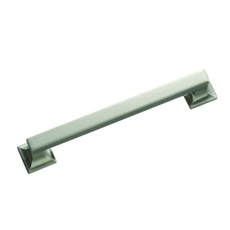 home depot cabinet hardware hickory hardware studio collection 8 in satin nickel
