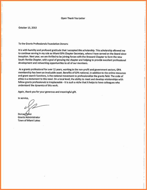 thank you letter for scholarship 7 thank you note for scholarship marital settlements 11626