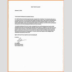 7+ Thank You Note For Scholarship  Marital Settlements